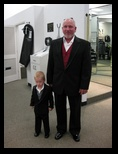Father of the Bride and Grandson Ring Bearer