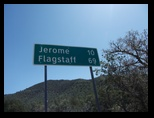 Drving to Jerome